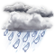 Weather Icon: Dážď